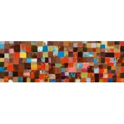 Multi Tiles Canvas 40x120cm