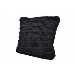 Black Cushion 38x38cm