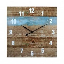 Horloge en planche