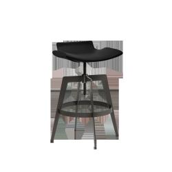 Bancroft Adjustable Barstool